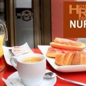 desayuno hotel caldea